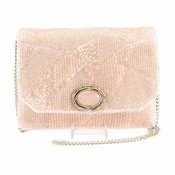 Mary Frances Embellished Designer Bag Make Me Blush - CLOSEOUT