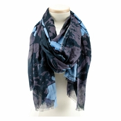 Mary Frances Flowers Scarf