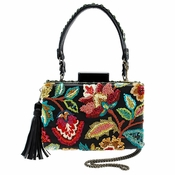 Mary Frances Garden Tour Embellished Bag