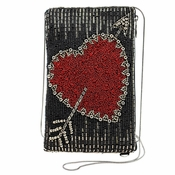 Mary Frances Heart of the Matter Crossbody Bag