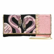 Mary Frances In Sync Pink Clutch