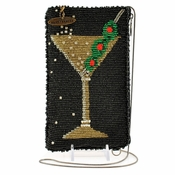 Mary Frances Martini Cell Phone/Glasses Pouch