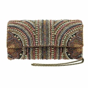 Mary Frances Medieval Alley Embellished Bag