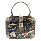 Mary Frances Mile High Embellished Bag