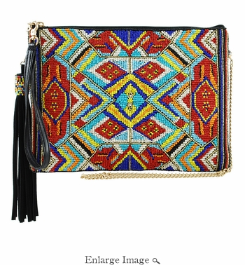 Mary Frances Mixed Message Bag
