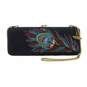 Mary Frances Proud as a Peakcock Embellished Bag