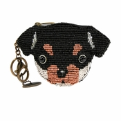 Mary Frances Puppy Passion Coin Purse