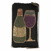 Mary Frances Salute Cell Phone/Eye Glasses Pouch