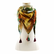 Mary Frances Scarf Temple - Shipping January 2018