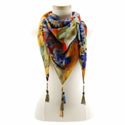 Mary Frances Scarf Wild Flower - Shipping January 2018