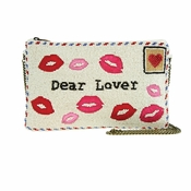 Mary Frances Sealed With A Kiss Clutch - CLOSEOUT