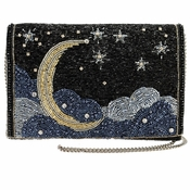Mary Frances Shoot for the Moon Embellished Bag