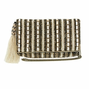 Mary Frances Stripe It Cream Clutch