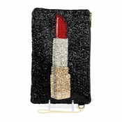 Mary Frances Touch Up  Cell Phone/Glasses Pouch