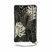 Mary Frances Tropical Rainforest Cell Phone Glasses Pouch