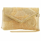 Mary Frances Victory, Gold Bag - SPECIAL OFFER