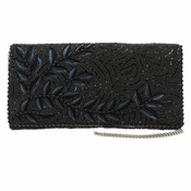 Mary Frances Willow, Black Embellished Bag