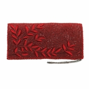 Mary Frances Willow, Red Embellished Bag