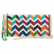 Mary Frances Zig Zag Bag