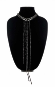 MGEMS Cascade Necklace - Gunmetal