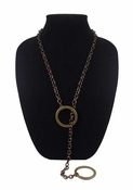 MGEMS Full Circle Lariat - Vintage Gold