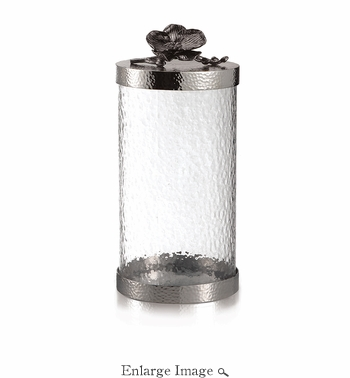 Michael Aram Black Orchid Canister Large