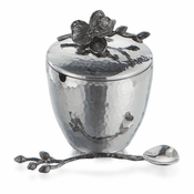 Michael Aram Black Orchid Pot w/ Spoon