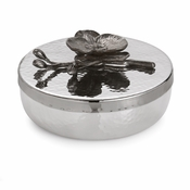 SOLD OUT - Michael Aram Black Orchid Round Trinket Box