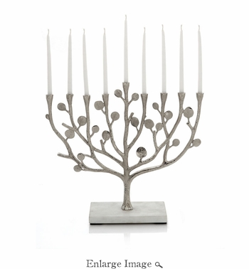 Michael Aram Botanical Leaf Menorah