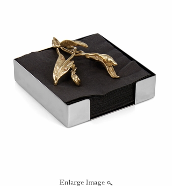 Michael Aram Enchanted Garden Cocktail Napkin Holder
