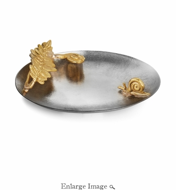 SOLD OUT - Michael Aram Enchanted Garden Oval Jewel Tray
