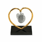 SOLD OUT - Michael Aram Heart To Heart Dreidel