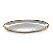 Michael Aram Molten Gold Long Oval Platter