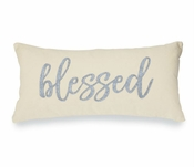 Blessed Canvas & Felt Pillow - Special Intro Offer