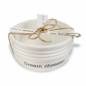 Cream Cheese Serving Set - CLOSEOUT