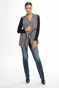 Muche et Muchette Moore Winter Plaid Jacket - Black & White