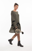 Muche et Muchette Raleigh Boho Dress Army Green