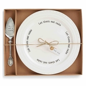 Mud Pie Cake Plate Set - SPECIAL