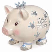 SOLD OUT - Mud Pie Giant Crown Prince Bank