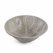 Mud Pie Sand Nautilus Serving Bowl - CLOSEOUT