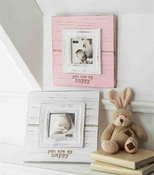Mud Pie My Happy Frame Pink - CLOSEOUT