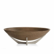 Nambe Cabo Oval Serving Bowl