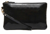 Handbag Butler Mighty Purse Glossy Black Wristlet - CLOSEOUT
