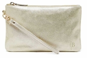 Handbag Butler Mighty Purse Gold Shimmer Wristlet - CLOSEOUT