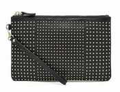 Handbag Butler Mighty Purse Stud Black W/Sm Gold Studs