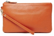 Handbag Butler Mighty Purse Tangerine Orange Wristlet - CLOSEOUT