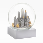 SOLD OUT NYC Silver Snow Globe