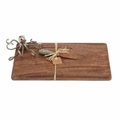 Mud Pie Octopus Board Serving Set
