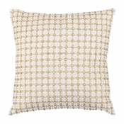 Olivia Riegel Anna 18X18 Pillow With Gold Beads