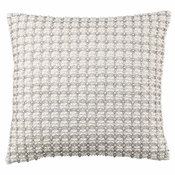 Olivia Riegel Anna 18X18 Pillow With Silver Beads - CLOSEOUT